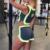 De alta Calidad de Algodón Sexy Crop Top Y Falda Set Mujeres Gris Establece Tank Top Ropa Funky Playsuit Para Las Mujeres