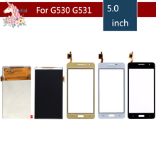 For Samsung Galaxy Grand Prime G531F SM-G531F G530H G530 G531 G5308 LCD Display With Touch Screen Digitizer Sensor Replacement new gold oem replace touch screen with digitizer lcd display for samsung galaxy grand prime g531 sm g531 g531f g531h phone