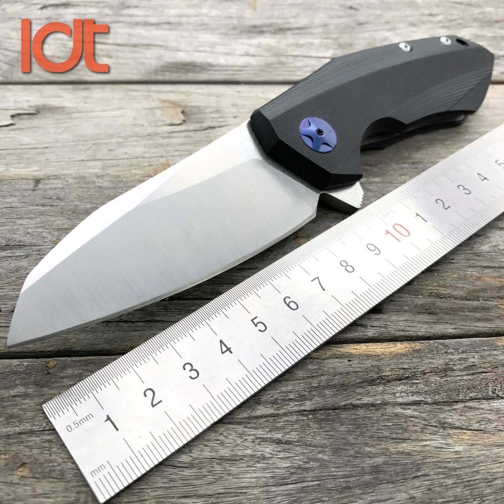 LDT 0456 taktikaline kokkuklapitav tera nuga G10 käepide D2 tera laager libisemine jahinuga kasuliku tasku telkimine ellujäämise EDC tööriist