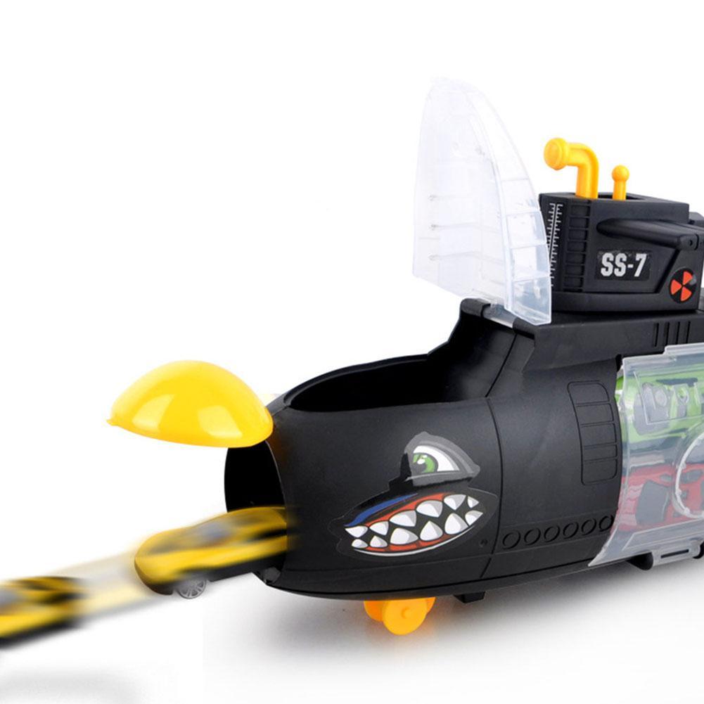LeadingStar Metal Alloy Diecast Toy Mini Auto Shark Submarine Mode Cars Toys Set for Children Toddler Car Toy