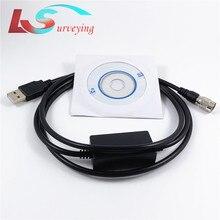 Mới Topcon Cáp Dữ Liệu USB Cho Topcon Sokkia Tổng Ga Phù Hợp Với Máy Tính Win7 8 10 Hệ Thống USB Tải Cáp Gowin nam Khảo Sát Dụng Cụ