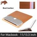 Talkesen портфель Для Ноутбука рукав Натуральная кожа лайнер случай Таблетки компьютер Защитная сумка Для Macbook Air Pro retina 11 13 дюйма