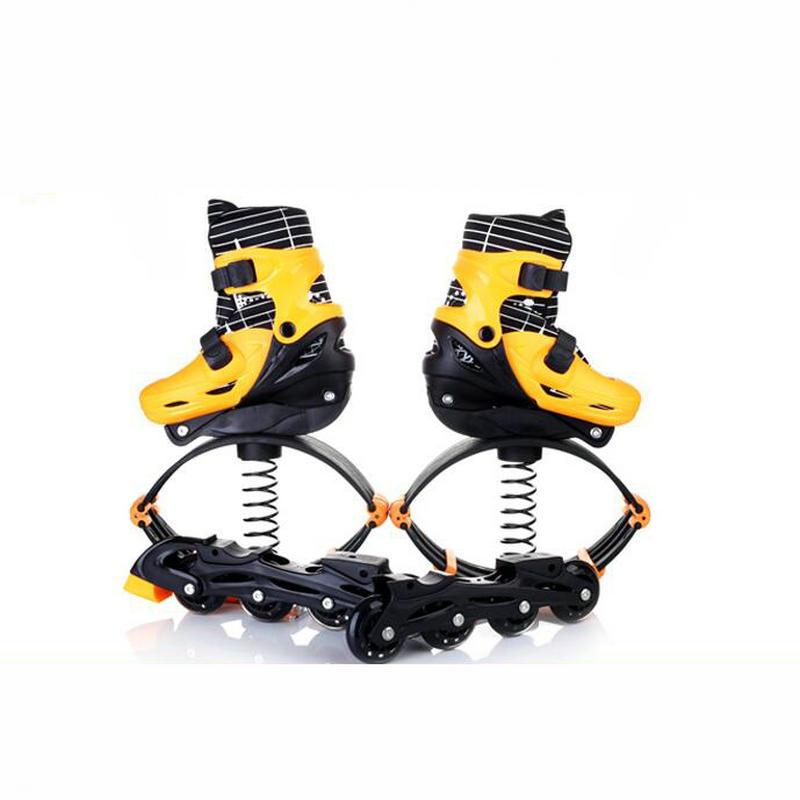 Prix pour 2 Dans 1 Skate Et Kangourou Saut Chaussures Fitness Exercice 30-50 kg (66lb-110lb) Espace Rebondir Chaussures saut Et Skate