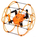 RC Drone Dron 360-degree Quadcopter with LED Light Walking Climbing Flying Modes 3 in 1 Copter Fly Helicopter VS Syma X18 Drones