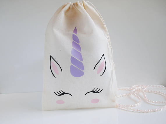 Gift Bags & Wrapping Supplies Custom Name Unicorn Party Favor Birthday Gift Bag,baby Shower Gift Bags,magical Party Favor Bags