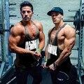 2015 LoudMouth dos homens Longarina GymShark Tanque treino Encabeça, Camisa Do Músculo Singlets Gymshark Musculação e Fitness Roupas