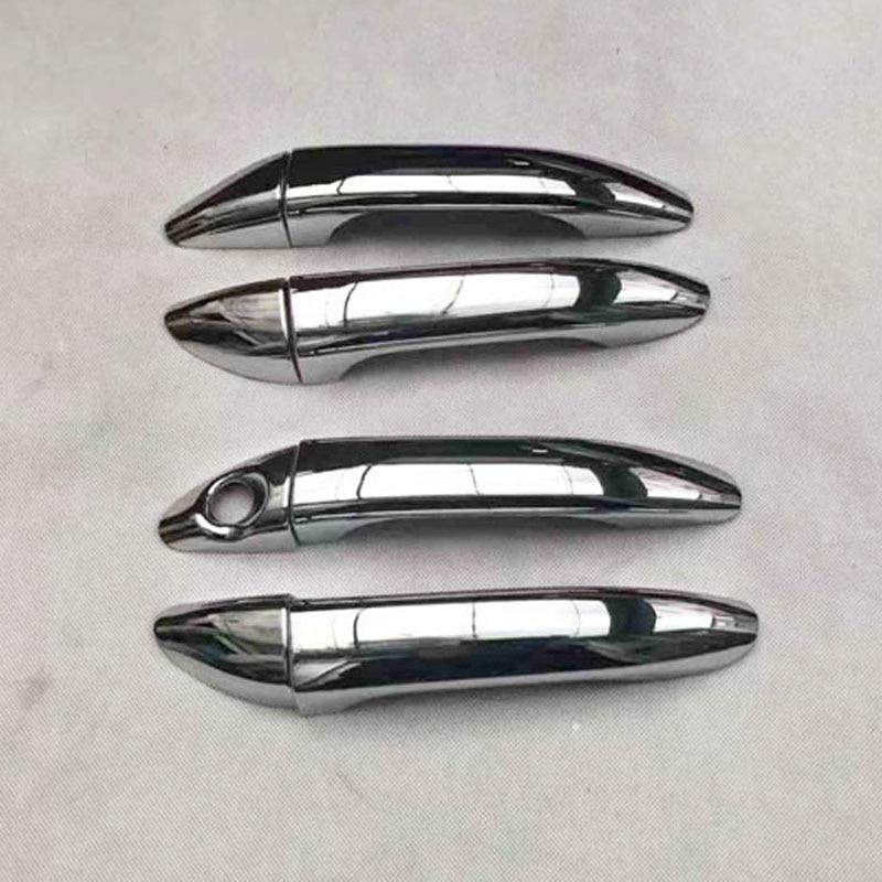 Couvercle de poignée de porte de voiture chromé   Pour Hyundai i10 i 10 Grand i10X 2014 2015 2016 2017 2018 Xcent, garniture de voiture, accessoires de style automobile
