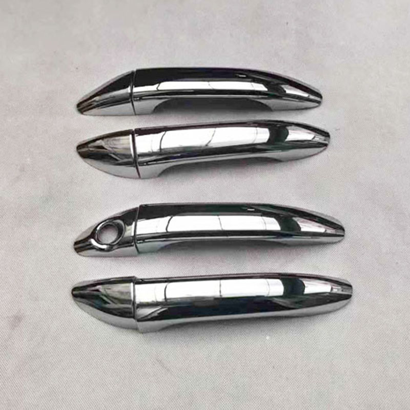 New Front Right Outside Exterior Door Handle Cover Cap CHROME For 10-14 Tucson