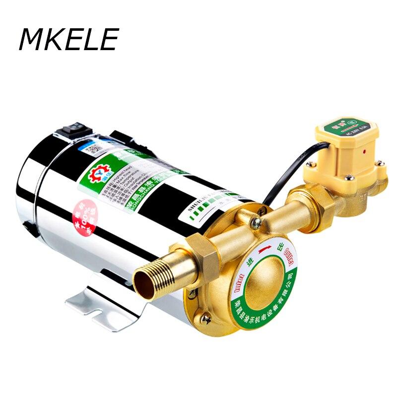 Us 200 220 V Uso Domestico Automatico Pompa Booster Pressione Scaldabagno A Gas Acqua Solare Pompe Acqua Aumentare Pumps100w Pompa Acqua In 220 V