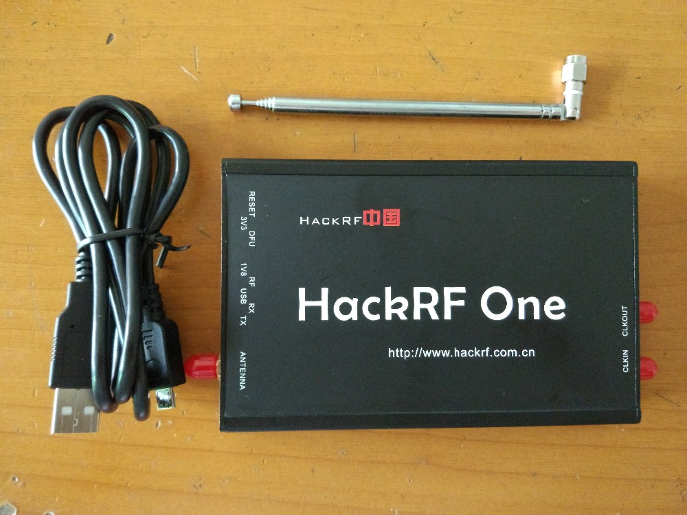 New HackRF One Software Defined Radio RTL SDR 1MHz to 6 GHz 8bit Quadrature for RF