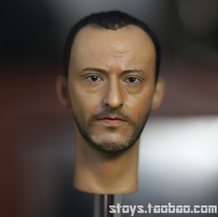 Brand New 1/6 Scale Head Sculpt The Professional Leon (Jean Reno) Head Sculpt Accessories For 12'' Action Figure Model Toy brand new 1 6 scale fast