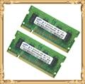 Памяти ноутбука для Samsung 2 ГБ 2 x 1 ГБ PC2-6400 DDR2 ноутбук оперативной памяти 800 6400 S 1 г 2 г 200-контактный SO-DIMM