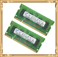 Memoria portátil para Samsung 2 GB 2 x 1 GB PC2-6400 DDR2 RAM Notebook 800 6400 S 1 G 2 G pines SO-DIMM