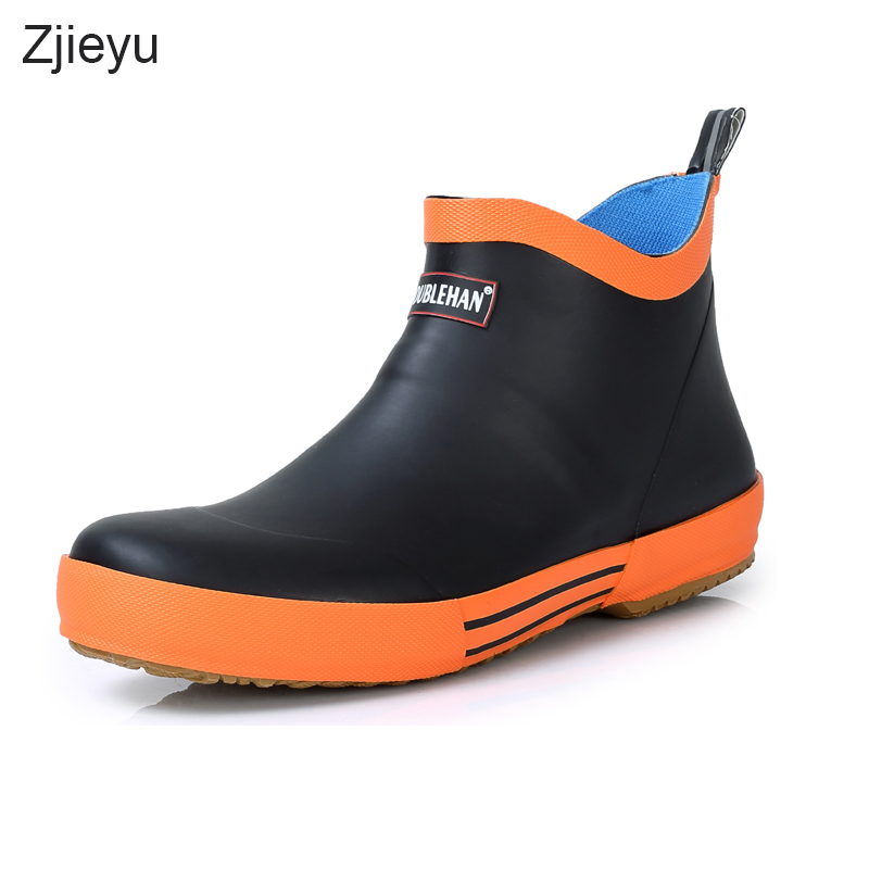 2018 sale Gumboots rubber asker rainboots men winter bots men winter fishing boots antiskid boots men rain boots Chelsea boots free shipping fashion madam featherweight rubber boots rainboots gumboots waterproof fishing rain boots motorcycle boots