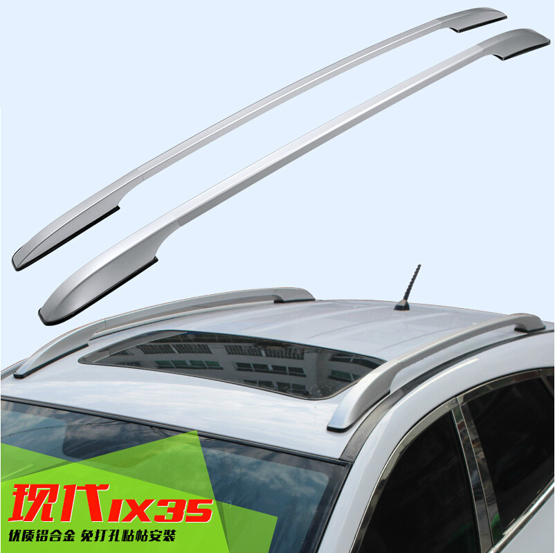 For Hyundai ix35 2010 2016 Roof Rack Rails Bar font b Luggage b font Carrier Bars