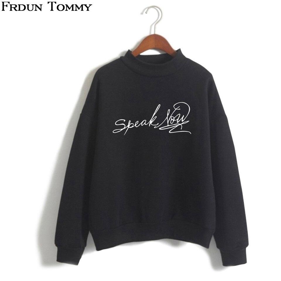 0b7c2671ee56 ... t shirt For Lady Girl Top Tee. US  7.74. 2 orders. Frdun Tommy  Sweatshirt Speak Now Oversize High Collar Swift Women Men High Collar  Casual 2018