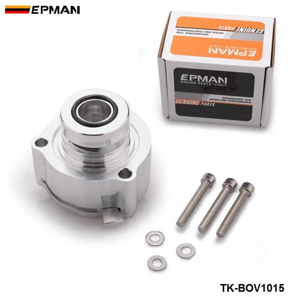 EPMAN Sport Aluminum Turbo Blow Off Valve BOV Flange Adapter For VW Golf VAG 2.0T 08-12 TK-BOV1015-EP