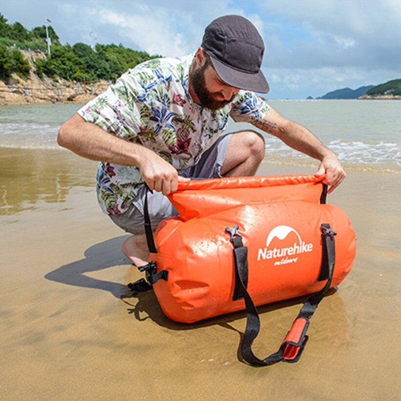 Водонепроницаемый сумка 40L/60L/90L/120L Сухой сумка с ремешком сумка для хранения Открытый Путешествие плавание рафтинг портативный Orange дорожна... ...