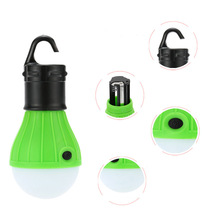 Mini Led Night Light 3 Modes Led Bulb Camping Lamp with Hook Emergency Lights for Camping