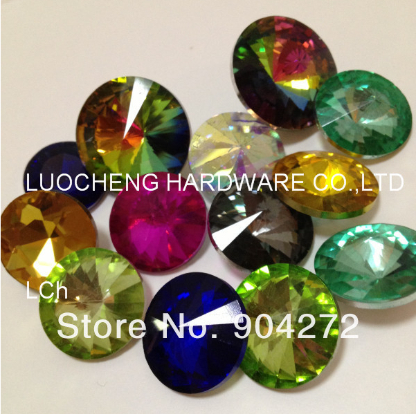 1000PCS/LOT 25 MM COLORED DIAMOND FLOWER( REDBUD, BROKEN DIAMOND) CRYSTAL  BUTTONS SNAP BUTTONS GLASS BUTTONS HARWARE DOOR KNOBS In Cabinet Pulls From  Home ...