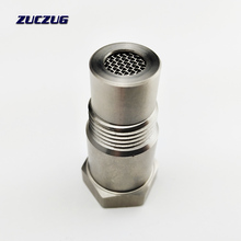 Universal Edelstahl M18x 1,5 O2 Sauerstoff Sensor Verlängerung Spacer Entfernen Fehler Stecker Silber