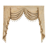 Luxury Valance for Living Room European Valance Curtains for Bedroom Window Curtains for Bedroom Valance Curtains for Kitchen