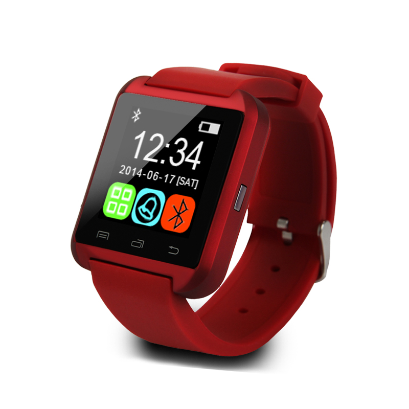 Smart watch U8 wrist font b smartwatch b font Sync Call push Message buletooth watch font