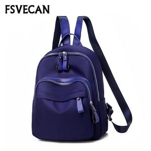 2019 New Oxford Backpack Casual Women anti-theft Travel Bagpack Mochila Feminina Bag Mochils Mujer