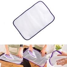 Бытовой сетчатый гладильный коврик изоляционная Защитная изоляционная ткань защитный коврик 40x60 см Поставка гладильной одежды