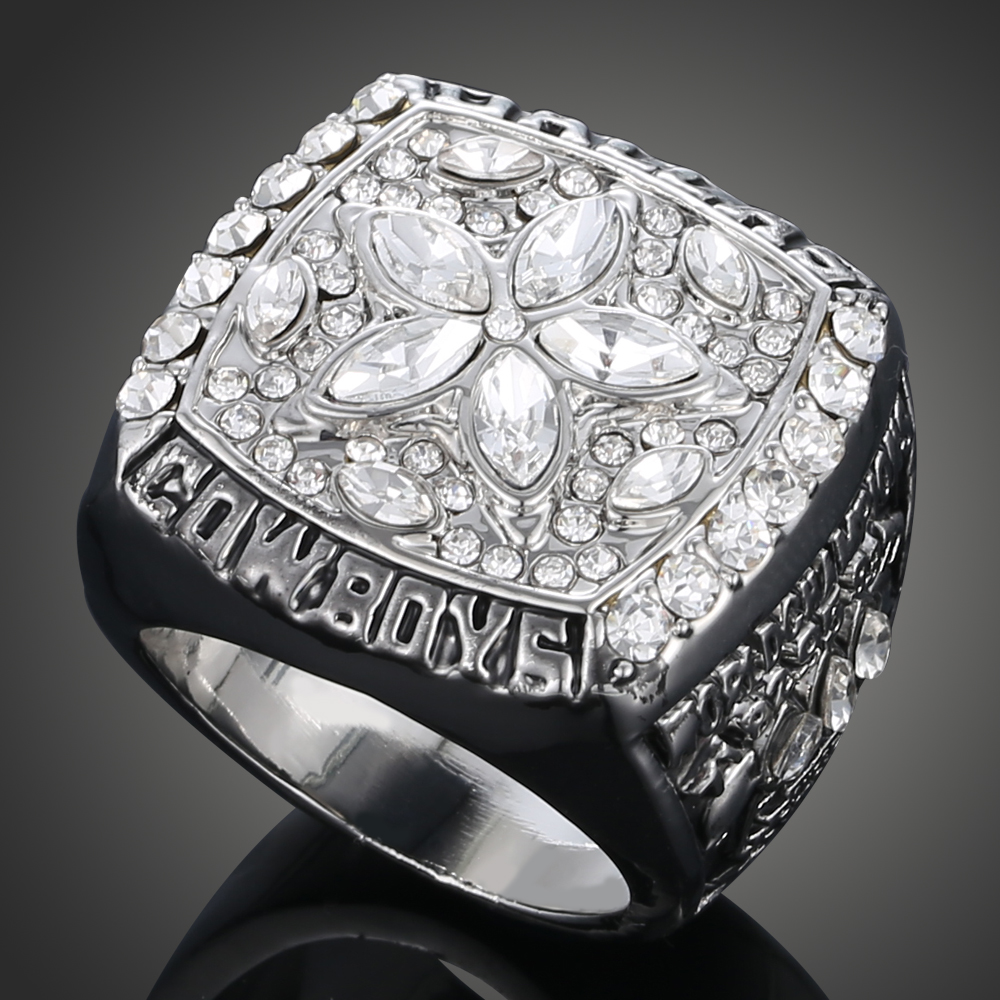 2017 Retro Sport Fans Big Men Jewelry New Vintage 1995 Replica Super Bowl Rings  Dallas Cowboys