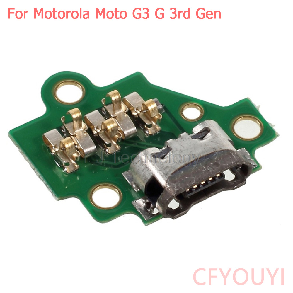 CFYOUYI For Motorola Moto G3 G 3rd Gen XT1541 XT1542 XT1543 Micro Charging Port USB Connector Jack Dock Replacement