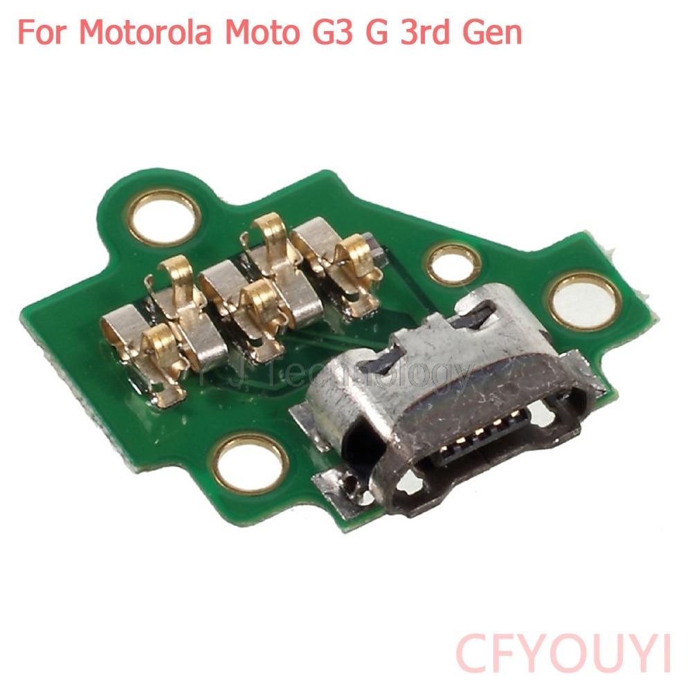 CFYOUYI For Motorola Moto G3 G 3rd Gen XT1541 XT1542 XT1543 Micro Charging Port USB Connector Jack Dock Replacement
