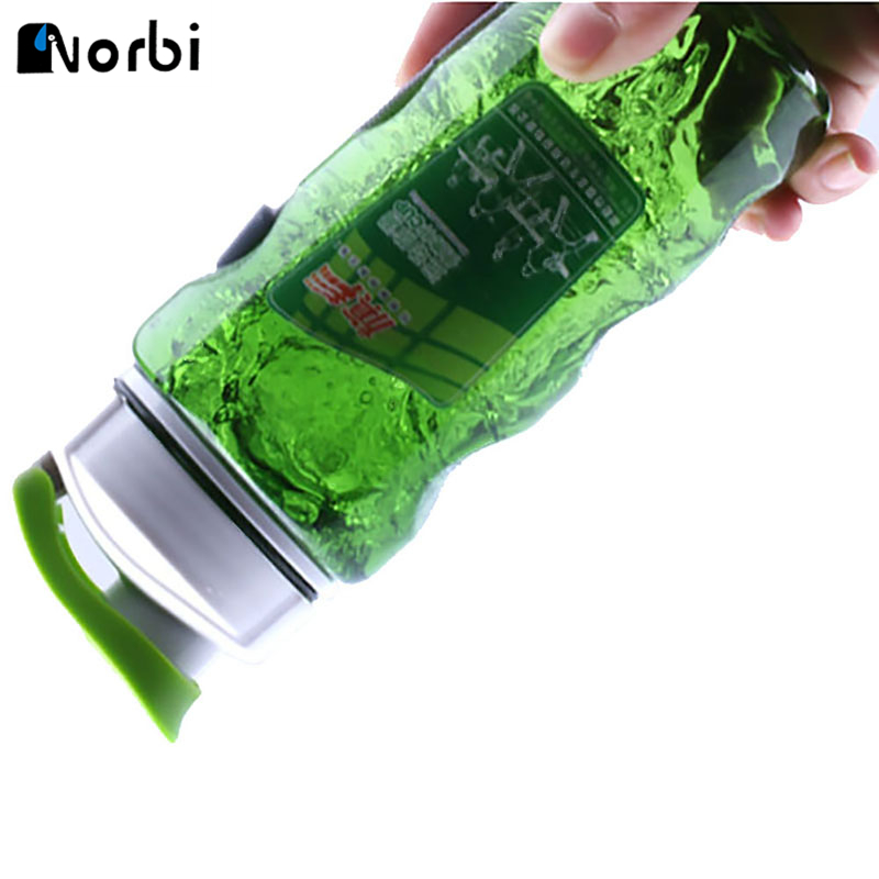 470ml Plastic Sports Water Bottle Space Bike/Outdoor/Camping Protein Powder Shaker Bottle Outdoor Carring Drinkware