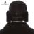 Masculino sombrero de Cuero Genuino sombrero de piel de visón sombrero sombrero de Piel de cuero de grado Superior de Moda de Grado Superior de Climatización de invierno Negro