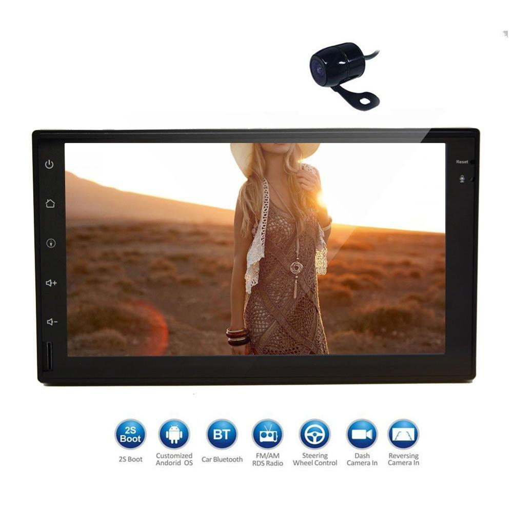 Double Din Touch Screen Head Unit Android6 0 GPS Navigation Car Stereo FM Auto font b