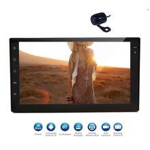 Doble DIN pantalla táctil unidad principal android6.0 navegación GPS coche ESTÉREO FM auto Radios vehículo WiFi apoyo 3G/ 4G mirroring pantalla