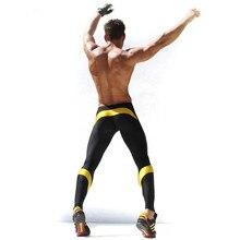 Herren Workout Fitness Compression Leggings Hosen Unten MMA Crossfit Gewichtheben Bodybuilding Haut Strumpfhosen Hosen M-XXL