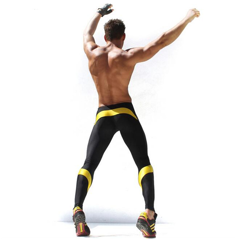 Mens Workout Fitness Compression Leggings Pants Bottom MMA Crossfit font b Weight b font font b