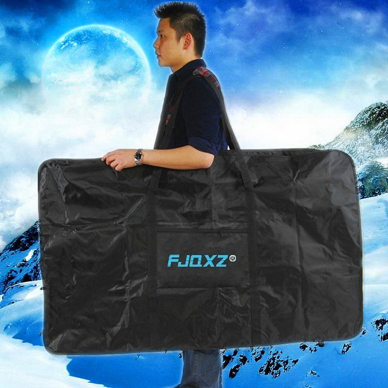Cycling Bicycle Carrier Bag Carry Pack Storage Folding Bike Loading Bag 2 Size, 26/27.5 MTB Bike Loading Package wheel up bicycle rear seat trunk bag full waterproof big capacity 27l mtb road bike rear bag tail seat panniers cycling touring