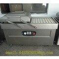 DZ-500/2 S de acero inoxidable de vacío de doble cámara de doble cámara de vacío máquina de envasado de Alimentos máquina de Carne máquina de vacío