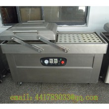 DZ-500 / 2S stainless steel double chamber vacuum packaging machine Food double chamber vacuum  machine Meat vacuum  machine
