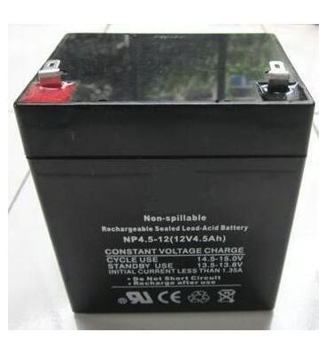 12 V 4.5Ah свинцово-кислотный аккумулятор. UPS VRLA источник бесперебойного питания