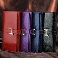 Luxury Brand Designer women Wallets High Quality Genuine Leather Women Wallets Crocodile pattern long Purse money bag 7 colors