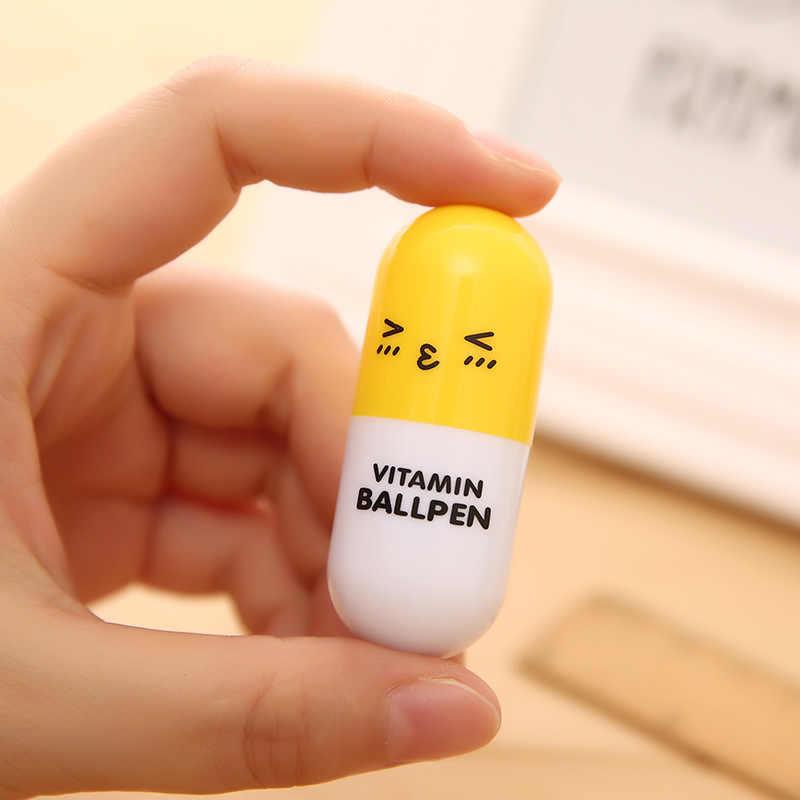 1 Stücke Pille Kugelschreiber Büro Und Schulbedarf Nette Schulbedarf Schreibwaren Kugelschreiber Set Büro Zubehör