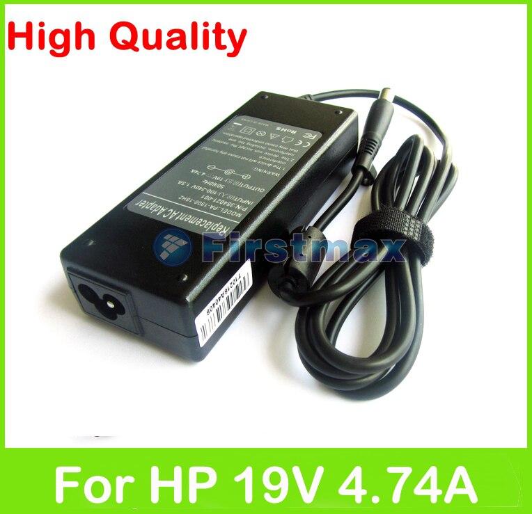 19 v 4.74a 90 watt ac laptop adapter netzteil für hp probook...