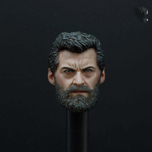 1/6 Scale X-Man Wolverine Logan Head Sculpt Models for 12 Inches Male Bodies Figures Accessories Collections Gifts Toys 1 6 scale kt005 female head sculpt long hair model toys for 12 inches women bodies figures