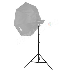 "Image 5 - 260cm Air Cushioned Heavy Duty Light Stand With Adaptor Also Support 1/4"" and 3/8"" Photo Equipment"