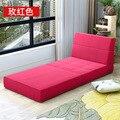 Minimalista moderna Sala de estar Sofás Muebles de Sala Muebles Para El Hogar un asiento Sofá cama plegable portátil 200*72*15 CM 2017