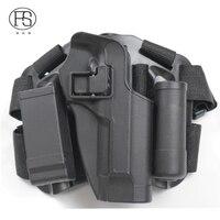 Tactical Military Beretta M9 Pistol Leg Holster Army Airsoft Hunting Shooting Gun Holster Right Hand User