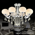 New Simple Modern LED Ceiling Lamps Crystal Warm Round Master room Led Ceiling Lights Living Room Atmosphere indoor e27 lighting